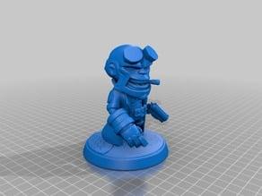 Hellboy Chibi Miniature
