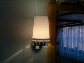 Caravan lamp shader