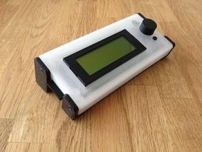 Smart LCD case.