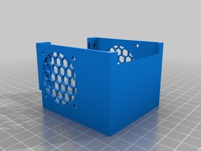"Anycubic i3 Mega ""Noise Reducing"" Hotend cover"