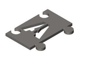 Modular Alphabet Stencil