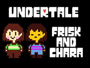 Frisk and Chara - Undertale