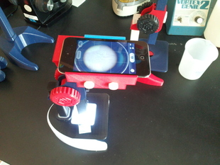 Ipod Touch Adapter for Printable Microscope