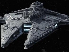Sith Battlecruiser - Harrower Class
