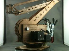 Palletizing Robot Arm (3DOF, 50cm reach, 125g lift)