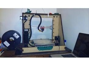 QuorXZ: A String-driven, Core XZ 3D Printer