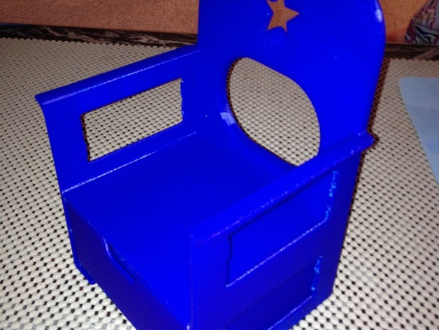 American Girl Doll Chair With Foot Rest / Storage Bin. By JD3Dprint Sep 12,  2015. Thingiview