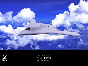 X47 B - RC EDF JET - Ducted Fan - Prototype - Aircraft