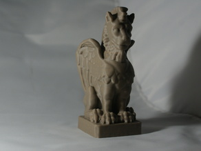 No-Support Gargoyle Statue