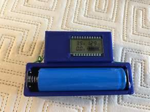 18650 Battery tester module case