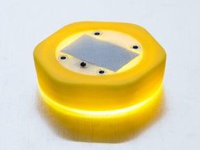 Solar Bottle Cap Lantern