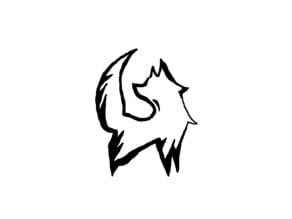 3D fox