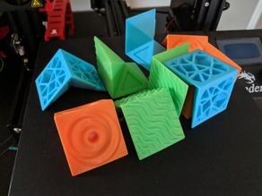 Textured Puzzle Cube!