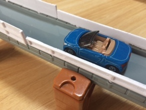 Guardrail for tomica system