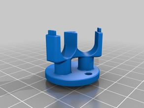 Anet A6 Cable holder z axis on top
