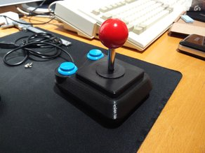 Prof Competition 9000 joystick clone (small buttons)