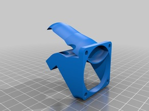RepRapGuru Prusa I3 V2 Cooling Fan Mount