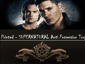 Supernatural Anti Possession Trophy