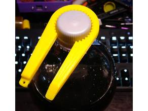 Simple Screw Top Bottle Opener! *With Keyring Mount and Pop Can Tab*