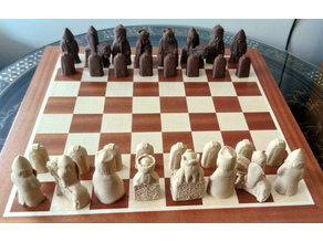 Lewis Chess Pieces