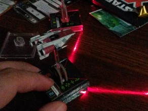 Star Wars X-Wing Miniatures 40mm laser base