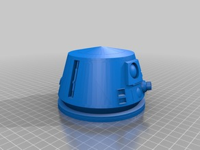 R6C9 Astromech Droid Head