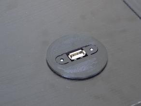 USB Desk Grommet - Round