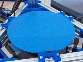 170mm diameter Glass Bed Holder for Mini Kossel