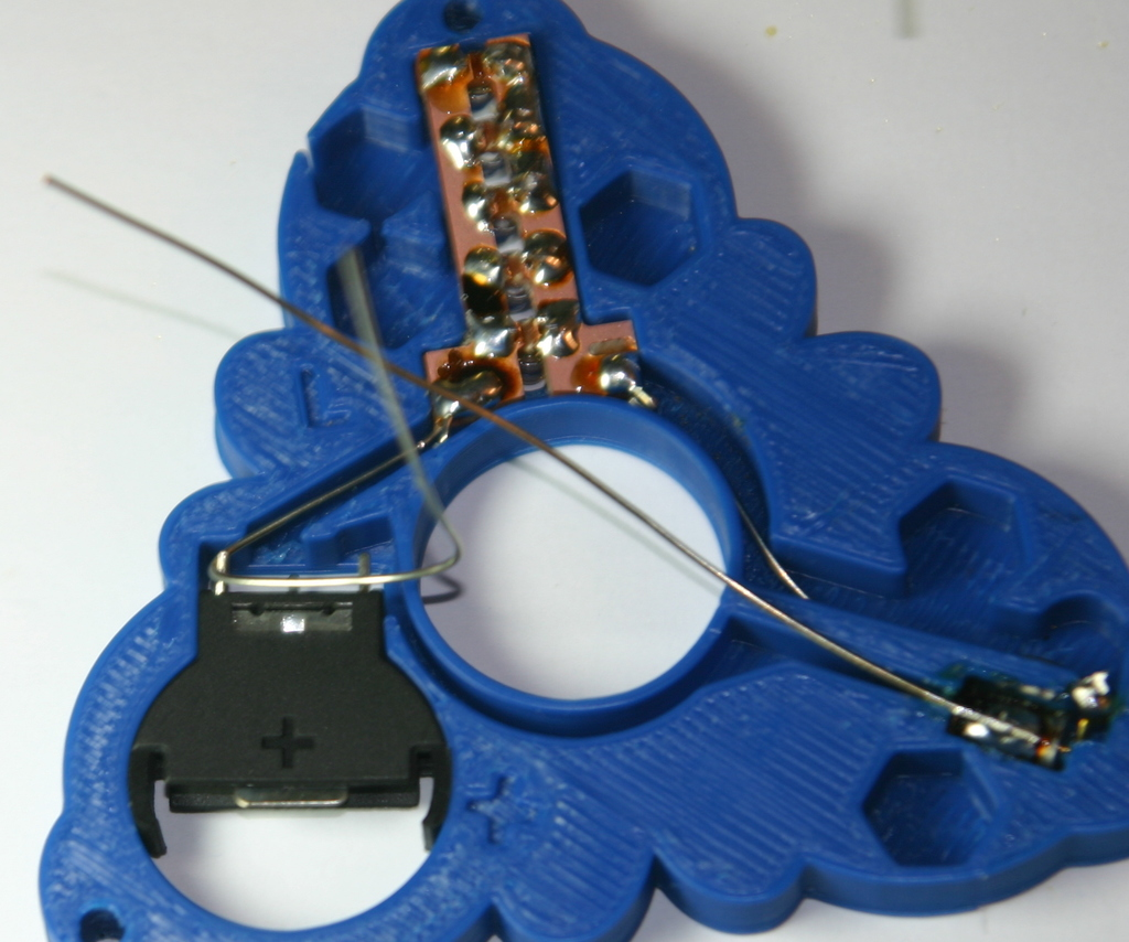 Vorpal Rainbow Fidget Spinner by vorpal - Thingiverse