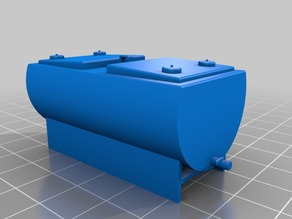 1/64 scale milk tank
