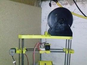 Print Rite DIY 3D Spool Mount Holder / Filament Cleaner