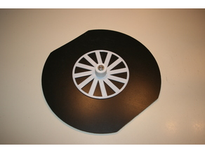 Turntable: Spool Plate