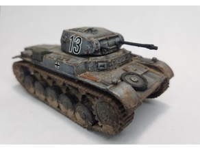 Panzer 2 1:56 scale (28mm Bolt Action)