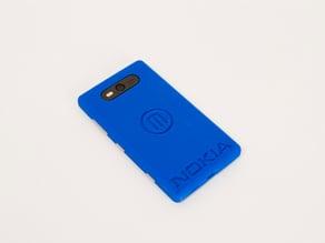 Nokia/Makerbot Logo Case - Nokia Lumia 820