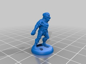 HeroQuest Mummy 18mm version