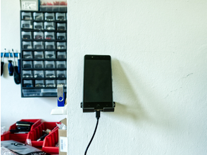Universal Phone Stand With Wall Mount