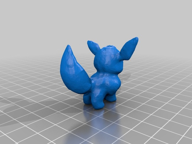 Pokemon Eevee By Bigblock Thingiverse