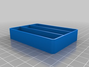 Parts Tray Drawers - 3 long sections