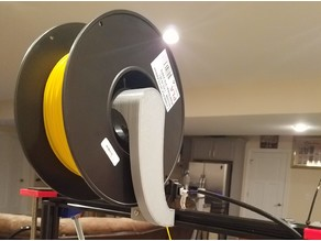 Side mount spool holder