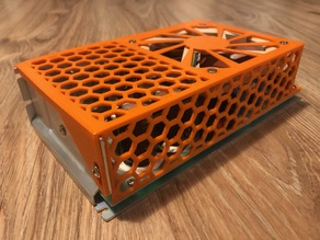 Anycubic i3 Mega (-S) PSU cover for 90x14mm fan.