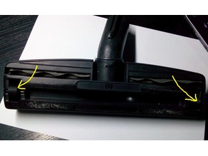 New wheel for vacuum cleaner floor nozzle (if old is broken).