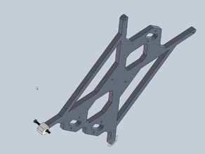 Prusa i3 Metal Y Carriage - Nuts holders - Easy bed levelling