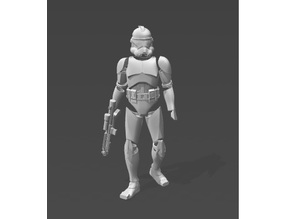 Phase 2 Clone Trooper Armour / Suit / Model