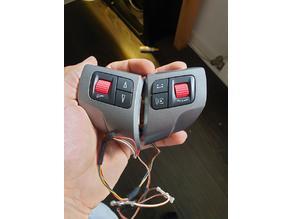 Opel/Vauxhall Astra H Steering Control Knob Thumb wheel Volume & BC