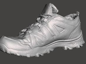 Running shoe 3D scan