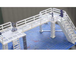 Star Wars Legion - Modular Walkways & platforms