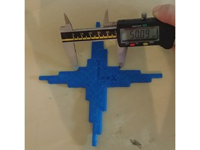 Calibration cross