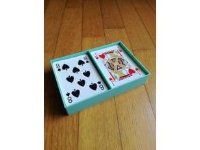 Gaming cards box