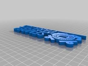 USCG Desk Plate