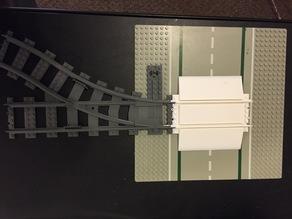 Lego Railroad Crossing Track